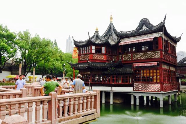 Yuyuan Jardin Chino Fotos