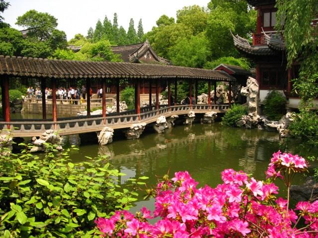 Yuyuan jardin chino fotos para fondo de pantalla