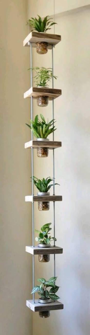 ideas jardines verticales para el hogar