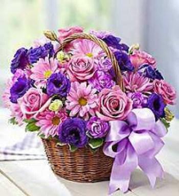 Decoracion con flores para compartir