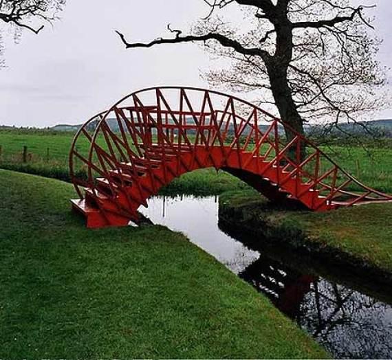El Jardin de la especulacion cosmica ubicado en Escocia