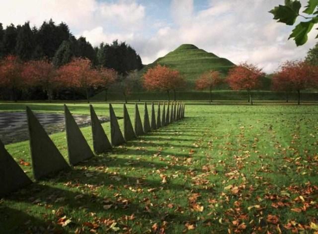 Explorar el jardin de la especulacion cosmica en escocia