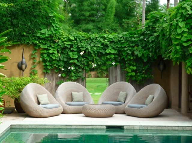 Fotos con ideas de decoracion proyectos de jardin con piscina