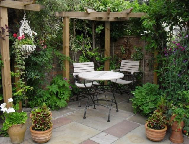 Fotos de zonas de espacios acogedores de descanso en el jardín