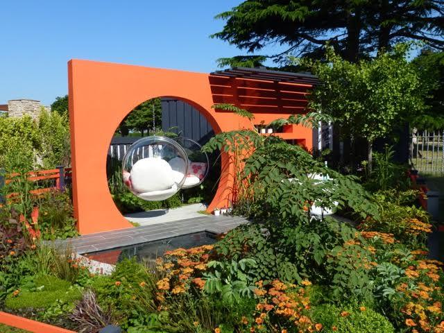 Imagen con ideas de diseño de espacios de descanso para el jardin
