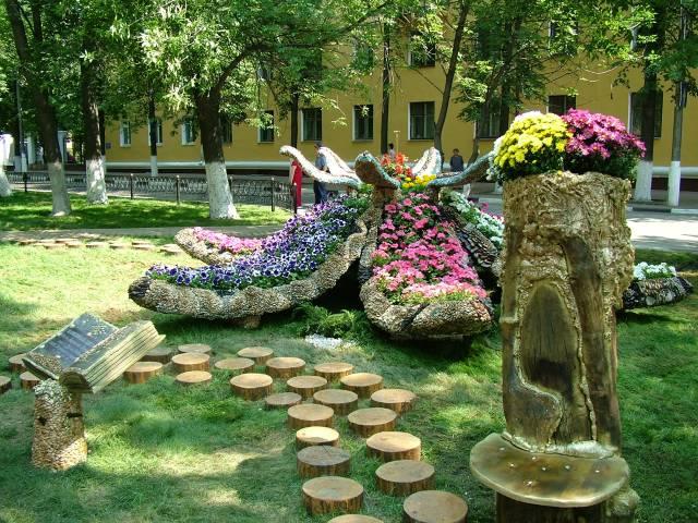 Imagenes con ideas de decoracion para el jardin