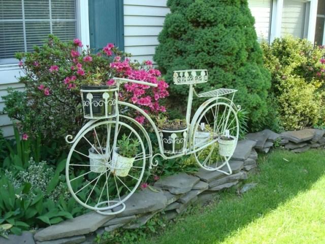 Imagenes decoraciones de jardin con reciclaje