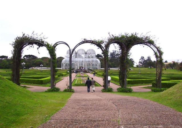 Imagenes del Jardin de Curitiba
