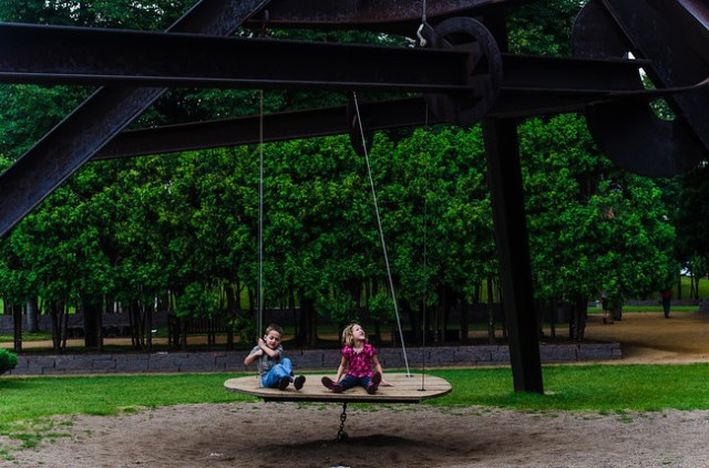 Imagenes del jardin de esculturas Minneapolis para facebook