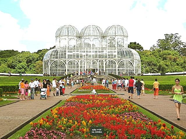 Imagenes jardines de Brasil en Curitiba