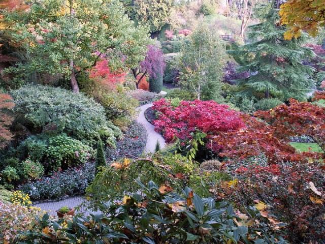 Jardin Butchart Victoria BC Canada imagenes para facebook