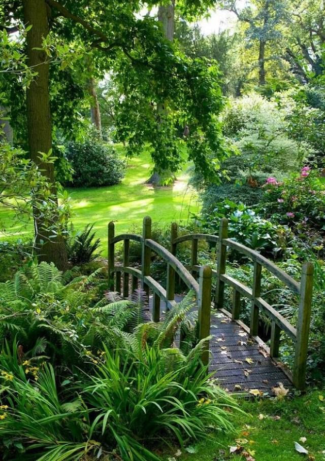 im genes de jardines para compartir en facebook