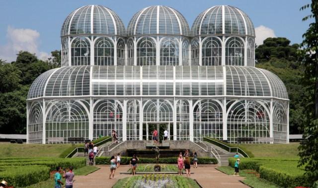Vista del Jardin Botanico en Curitiba