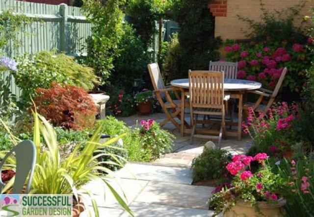 Zonas de relax en el jardín imagenes con ideas