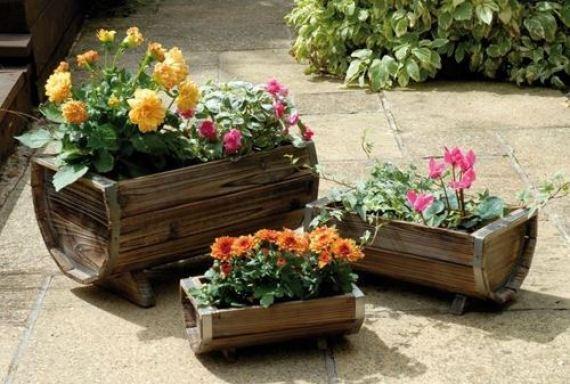 imagenes con decoraciones rusticas para el jardin