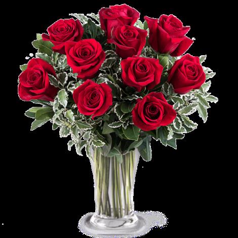 Ramo de rosas rojas para descargar y enviar el dia del amor y amistad