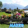 Imagenes de Jardines Con Mensajes Para Dar La Bienvenida Al Mes De Marzo