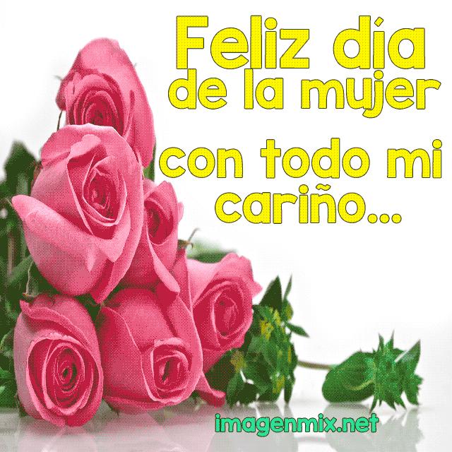 Imagenes de rosas Feliz dia de la mujer