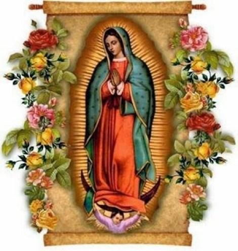 Imagenes De La Virgen De Guadalupe Con Rosas Para Compartir
