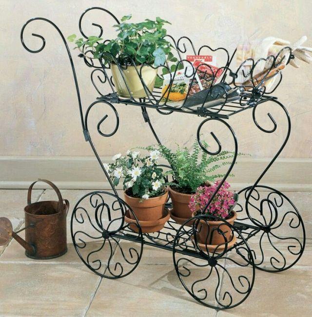 Ideas De Decoraciones De Hierro Forjado Para El Jardín