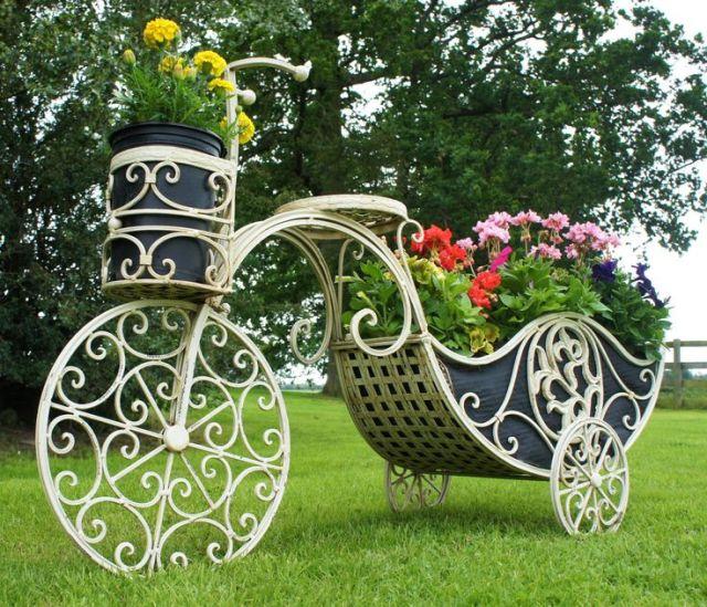 Imagenes con ideas de Decoracion en hierro para jardin