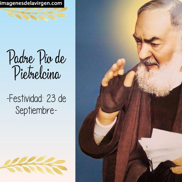 ✓Imágenes del Padre Pío de Pietrelcina para descargar gratis