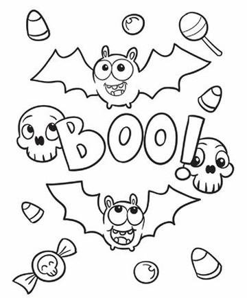 Imagenes de murcielagos para dibujar e imprimir para niños