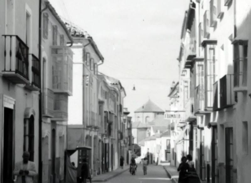 Calle El Agua, desde El Peso a Santo Domingo