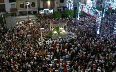 Virgen de Araceli. Plaza Nueva 2014