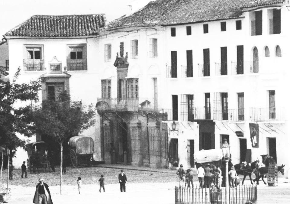 Posada Vistahermosa y casa de los Marqueses de Campo de Aras 1895