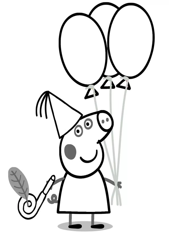 Dibujos Para Colorear Online Peppa Pig