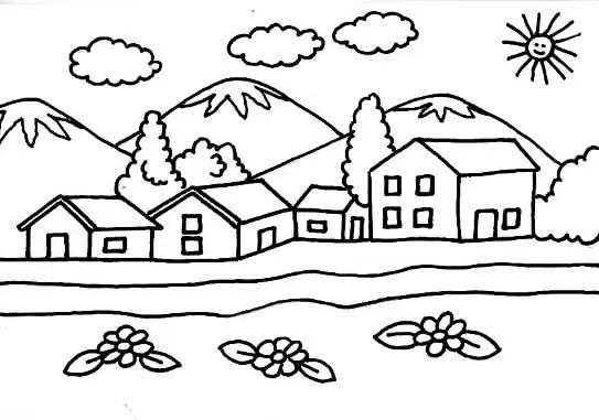 Dibujos Para Dibujar Faciles Y Bonitos De Paisajes