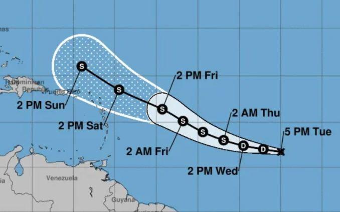 Se forma la Depresión Tropical #11