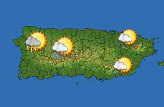 Pronostican lluvias y tronadas para esta tarde