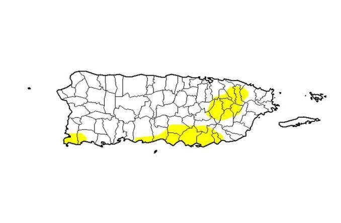 Se reduce de manera significativa la sequía en Puerto Rico