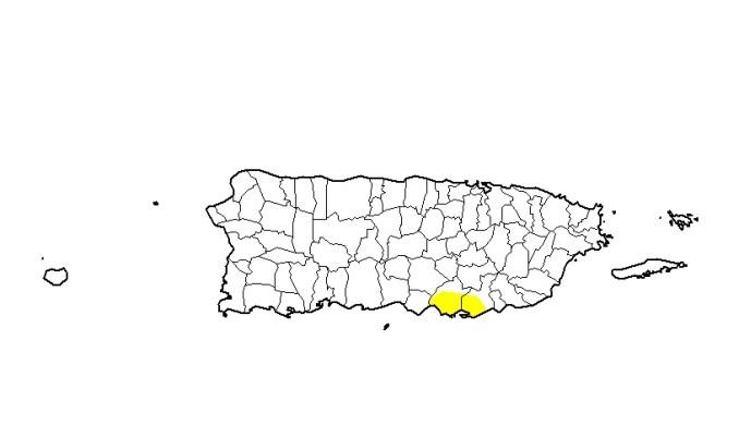 Las lluvias sobre Puerto Rico mantienen la sequía en un mínimo