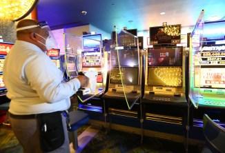 Inspeccionan protocolos de COVID-19 en los casinos