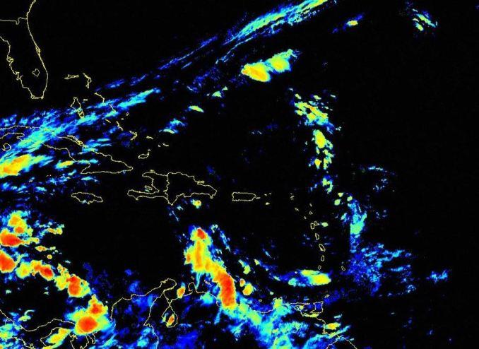 Aumenta el potencial de lluvia para hoy miérco