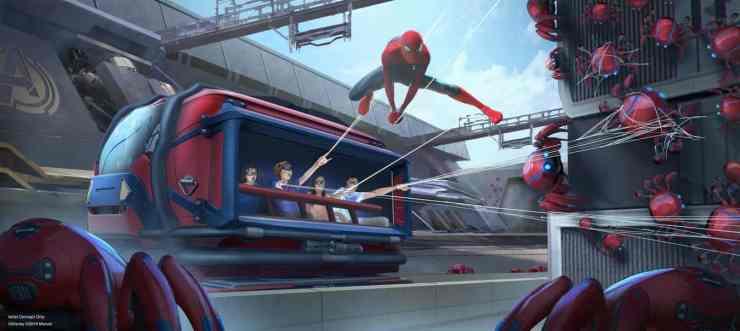 Parque Avengers Disney
