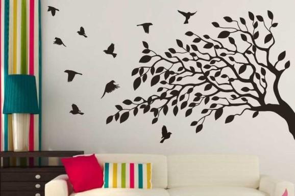 Decoracin de paredes con vinilos Ideas