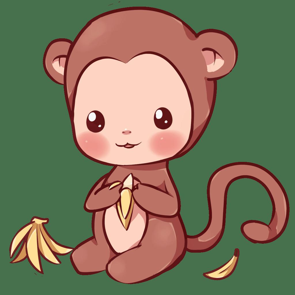 Monkeys And Bananas Cute Wallpaper Im 225 Genes Kawaii Fotos Y Dibujos Bonitos Para Descargar