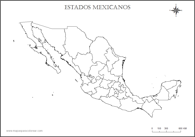 Información e imágenes con MAPAS DE MÉXICO Político