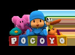 Pocoyo con logo
