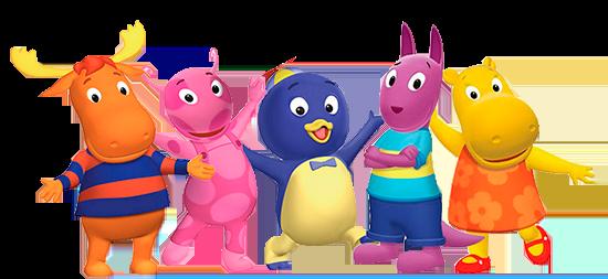 Characters Backyardigans Personajes