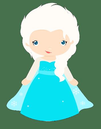 Elsa Frozen Bebe Cute