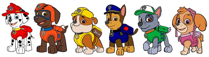 Paw Patrol Dibujos