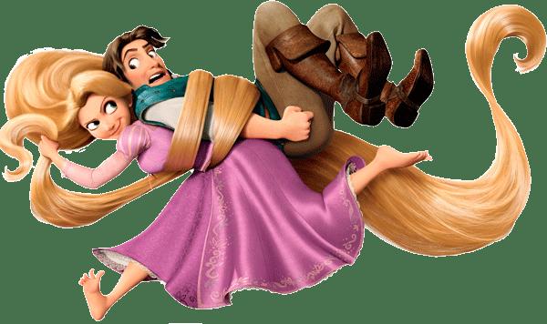 imagenes de rapunzel y Flynn