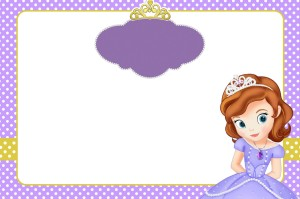 convite  princesa sofia 2