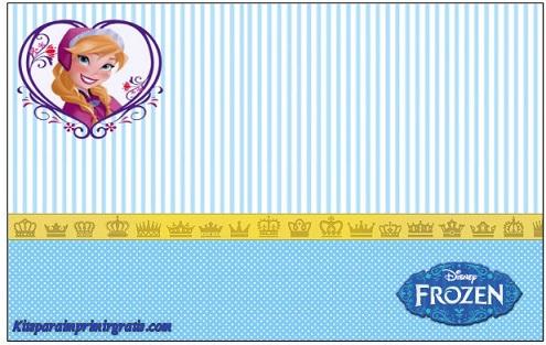 Tarjetas E Invitaciones De Frozen Imágenes Para Peques