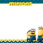 Imagenes de los Minions Tarjetas Marcos Etiquetas